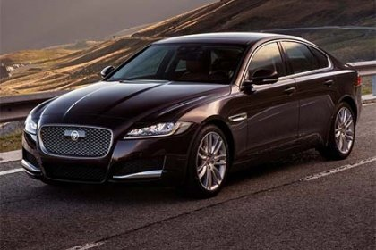 Jaguar XF E-Performance Portfolio