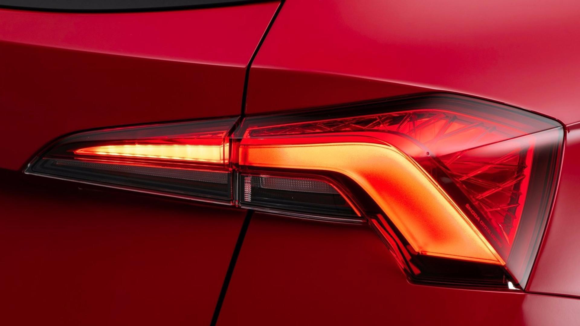 Nová Škoda Kamiq - zadní světlomety
